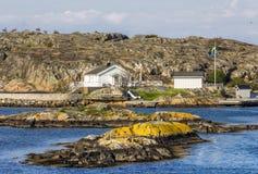Καλά νησιά με την όμορφη φύση - Γκέτεμπουργκ, Σουηδία Στοκ Φωτογραφία