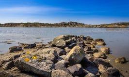 Καλά νησιά με την όμορφη φύση - Γκέτεμπουργκ, Σουηδία Στοκ φωτογραφία με δικαίωμα ελεύθερης χρήσης