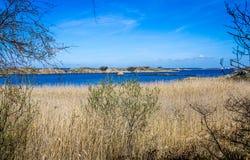 Καλά νησιά με την όμορφη φύση - Γκέτεμπουργκ, Σουηδία Στοκ Φωτογραφίες