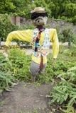 Καλά ντυμένο σκιάχτρο Στοκ Εικόνες
