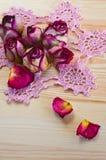 Καλά ξηρά τριαντάφυλλα Στοκ Φωτογραφία