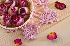 Καλά ξηρά τριαντάφυλλα Στοκ Εικόνα