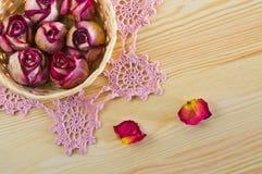 Καλά ξηρά τριαντάφυλλα Στοκ φωτογραφία με δικαίωμα ελεύθερης χρήσης