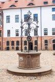 Καλά στο κάστρο Στοκ Φωτογραφίες