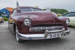 Καλά συντηρημένη συνήθεια υδραργύρου του 1949 coupe Στοκ φωτογραφίες με δικαίωμα ελεύθερης χρήσης