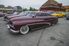 Καλά συντηρημένη συνήθεια υδραργύρου του 1949 coupe Στοκ εικόνα με δικαίωμα ελεύθερης χρήσης
