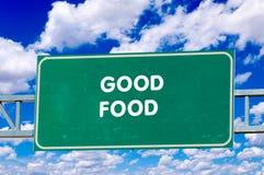 Καλά τρόφιμα Στοκ φωτογραφία με δικαίωμα ελεύθερης χρήσης