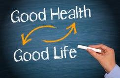 Καλές υγείες και καλή ζωή στοκ εικόνα με δικαίωμα ελεύθερης χρήσης