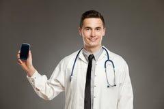 Καλέστε το γιατρό Στοκ Εικόνες