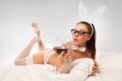 Καλό bunny Στοκ φωτογραφία με δικαίωμα ελεύθερης χρήσης
