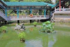 Καλή θρησκεία Sik Sik Yuen Wong Tai Sin Temple κήπων επιθυμίας Στοκ Εικόνες