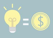 Καλή ιδέα για τα χρήματα Στοκ Εικόνα
