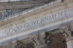 καλή κυβέρνηση στοκ εικόνες με δικαίωμα ελεύθερης χρήσης