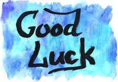Καλή τύχη! Στοκ Εικόνες