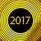 Καλή χρονιά 2017 Διανυσματική ανασκόπηση Στοκ φωτογραφίες με δικαίωμα ελεύθερης χρήσης