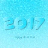 Καλή χρονιά 2017 Διανυσματική ανασκόπηση Στοκ Φωτογραφία