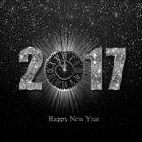 Καλή χρονιά 2017 Διανυσματική ανασκόπηση Στοκ εικόνα με δικαίωμα ελεύθερης χρήσης