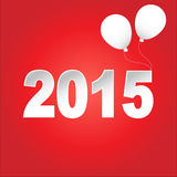 Καλή χρονιά 2015 διάνυσμα Στοκ φωτογραφία με δικαίωμα ελεύθερης χρήσης