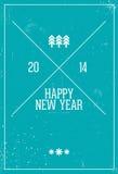 Καλή χρονιά 2014 Στοκ Εικόνες