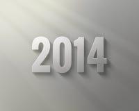 Καλή χρονιά 2014 απεικόνιση αποθεμάτων