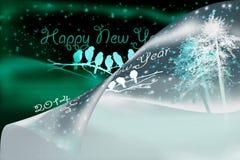 καλή χρονιά 2014 Στοκ Φωτογραφία