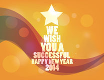 Καλή χρονιά 2014 Στοκ Φωτογραφίες