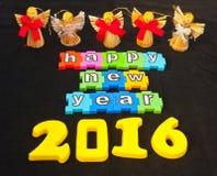 Καλή χρονιά 2016 Στοκ εικόνες με δικαίωμα ελεύθερης χρήσης