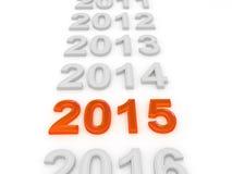 Καλή χρονιά 2015 Στοκ εικόνες με δικαίωμα ελεύθερης χρήσης