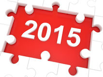 Καλή χρονιά 2015 Στοκ φωτογραφία με δικαίωμα ελεύθερης χρήσης