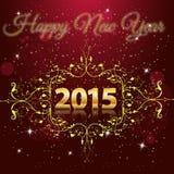 Καλή χρονιά 2015 στοκ εικόνα
