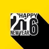 Καλή χρονιά 2016 Στοκ εικόνα με δικαίωμα ελεύθερης χρήσης