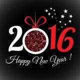 Καλή χρονιά 2016 Στοκ Φωτογραφία