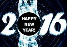 Καλή χρονιά 2016 ελεύθερη απεικόνιση δικαιώματος