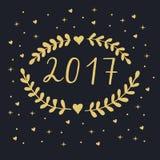 2017 καλή χρονιά Στοκ Φωτογραφίες