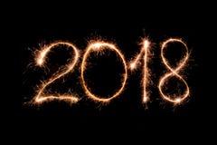 Καλή χρονιά 2018 στοκ φωτογραφία