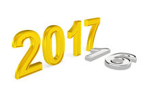 Καλή χρονιά 2017 Στοκ φωτογραφία με δικαίωμα ελεύθερης χρήσης