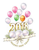 Καλή χρονιά 2018 Στοκ Φωτογραφίες