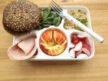 Καλαθάκι με φαγητό Στοκ Εικόνες