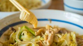 Καλαμάρι που τηγανίζεται με το λαχανικό Στοκ φωτογραφία με δικαίωμα ελεύθερης χρήσης