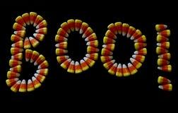 Καλαμπόκι BOO καραμελών! Στοκ φωτογραφία με δικαίωμα ελεύθερης χρήσης