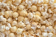 Καλαμπόκι, popcorn, κινηματογράφηση σε πρώτο πλάνο Στοκ εικόνα με δικαίωμα ελεύθερης χρήσης