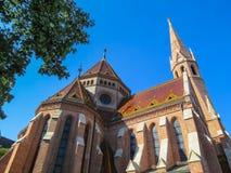Καλβινιστής εκκλησία, Βουδαπέστη Στοκ Εικόνες