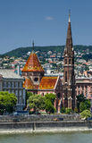 Καλβινιστής εκκλησία της Βουδαπέστης, Ουγγαρία Στοκ φωτογραφίες με δικαίωμα ελεύθερης χρήσης