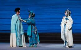 """Καλείται να είναι η αρμόδιος-έβδομη αποσύνθεση πράξεων οικογένεια-Kunqu Opera""""Madame άσπρο Snake† Στοκ Φωτογραφία"""