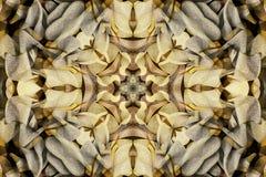 Καλειδοσκόπιο με όμορφο διακοσμητικό του χρώματος Στοκ Φωτογραφίες