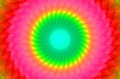 Καλειδοσκόπιο ουράνιων τόξων ελεύθερη απεικόνιση δικαιώματος