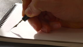Καλλιγραφία και ημέρας παγκόσμιας υγείας πρώτη γραμμή φιλμ μικρού μήκους
