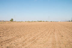 Καλλιεργήσιμο έδαφος άνοιξη Στοκ εικόνα με δικαίωμα ελεύθερης χρήσης