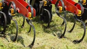 Καλλιεργητής για το χώμα απόθεμα βίντεο