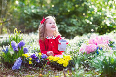 καλλιεργώντας κορίτσι &epsil Στοκ φωτογραφίες με δικαίωμα ελεύθερης χρήσης